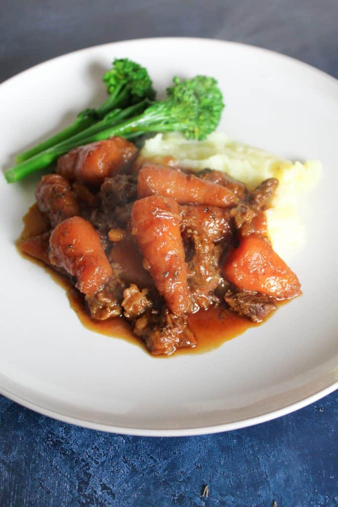 Slow cooked Beef shank stew