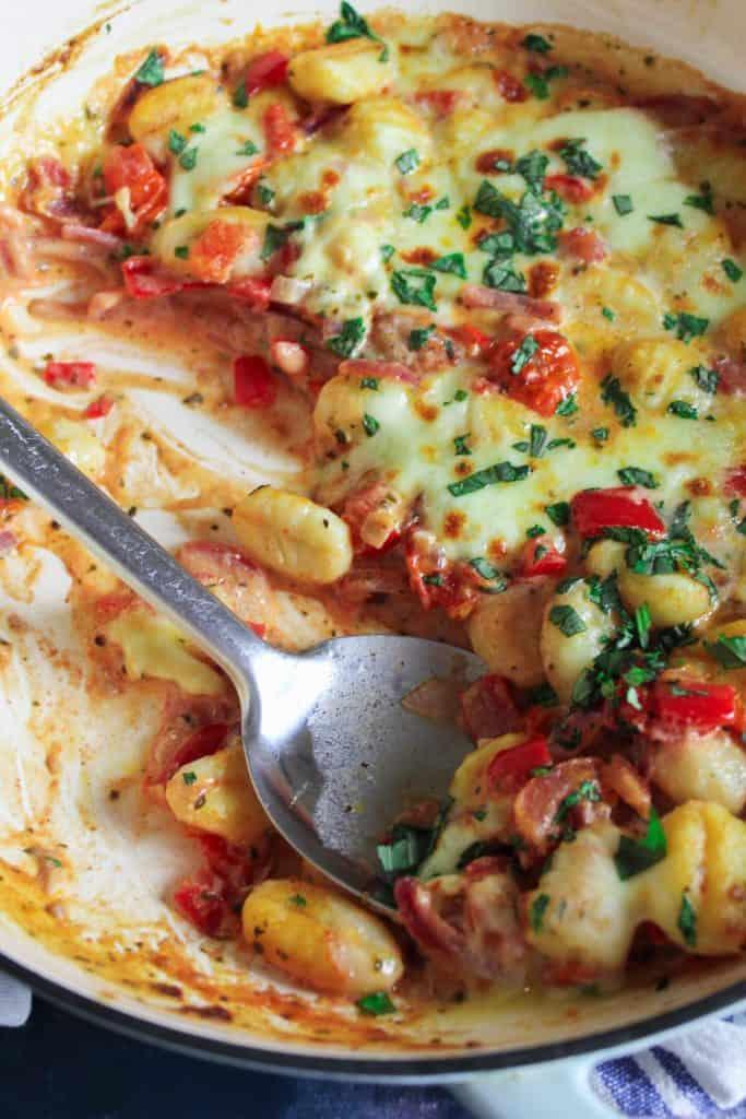 Gnocchi Bake Tomato Mozzarella