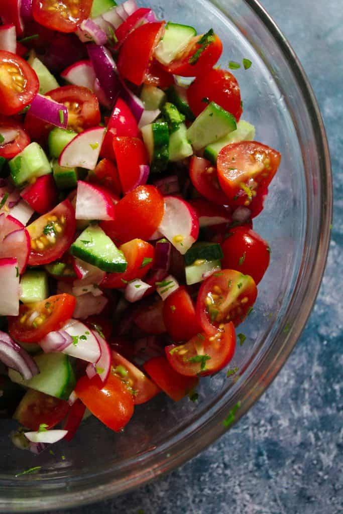 The best chopped salad