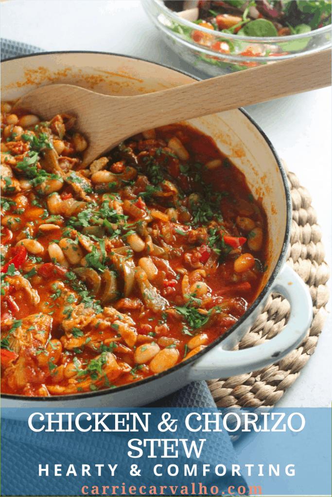 Chicken & Chorizo Stew Pin